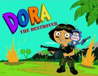 Futurama_Yo_Leela_Leela_Dora_the_Destroyer